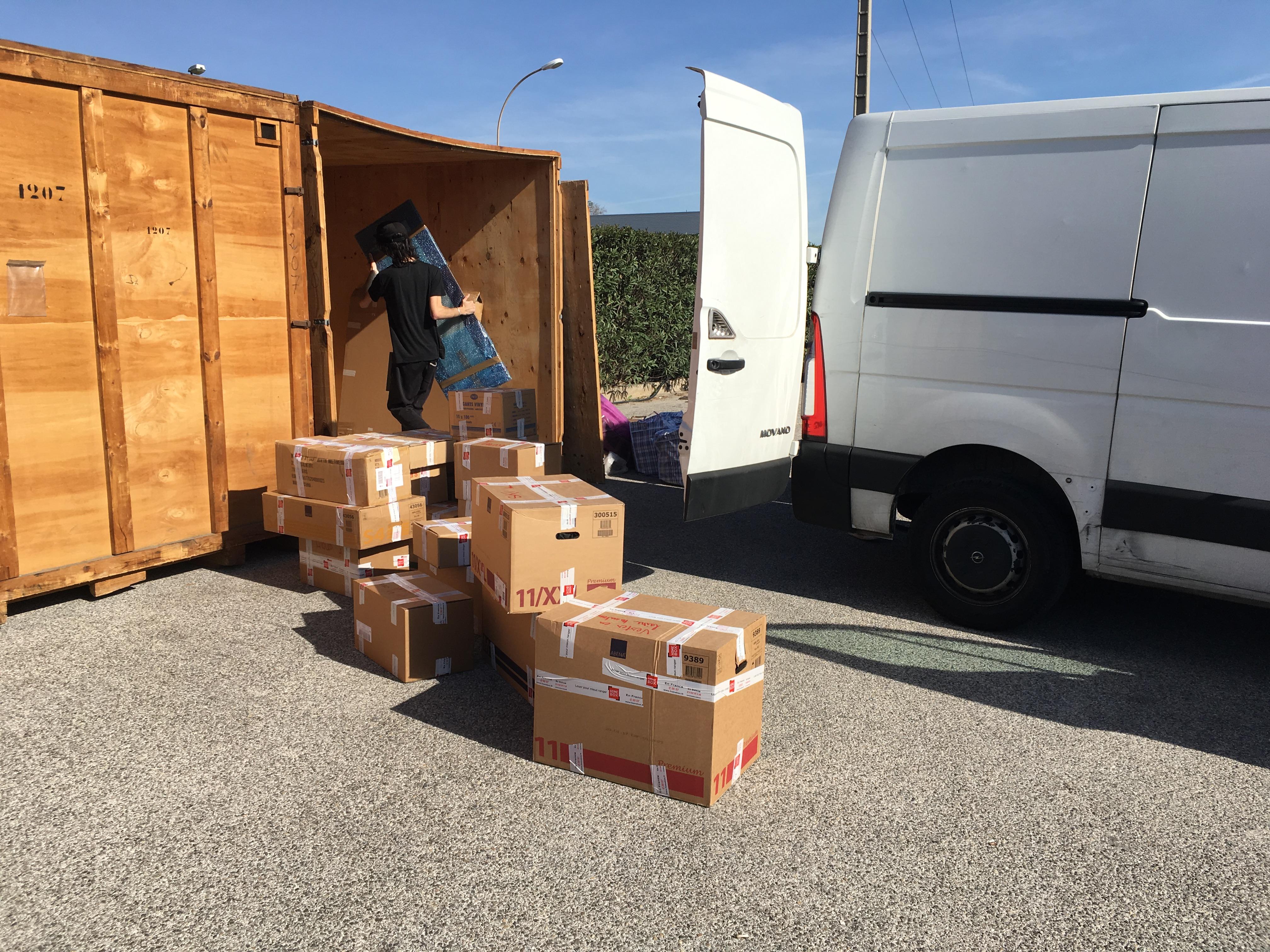 Garde meuble Toulon container à louer